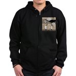 Archaeological Discovery Zip Hoodie (dark)