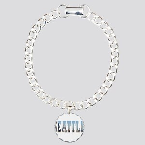 Seattle Charm Bracelet, One Charm