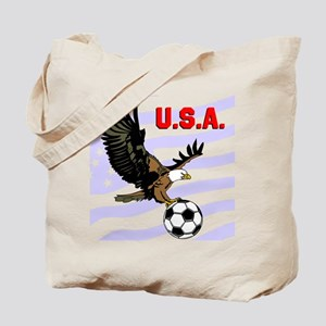 USA Soccer Eagle Tote Bag