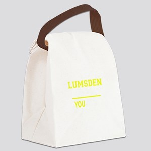 LUMSDEN thing, you wouldn't under Canvas Lunch Bag