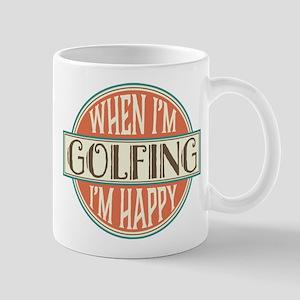 Golfing Gift Vintage Golfer Mugs
