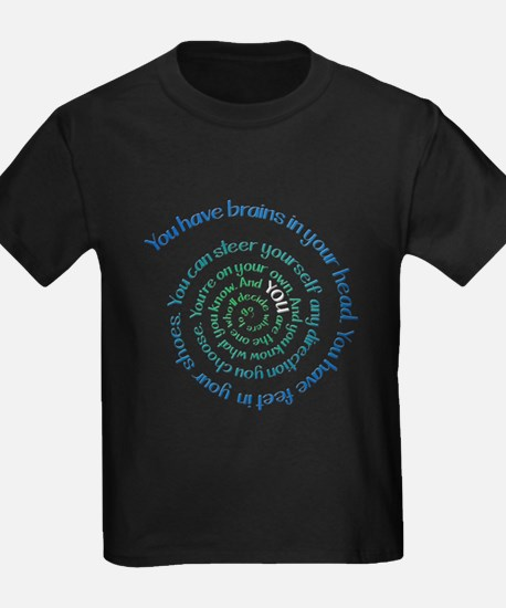 Oh, The Places Youll Go Dark image T-Shirt
