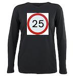 25 Plus Size Long Sleeve Tee