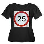 25 Plus Size T-Shirt
