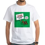 Dangerous Dachshund White T-Shirt