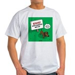 Dangerous Dachshund Light T-Shirt