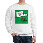 Dangerous Dachshund Sweatshirt
