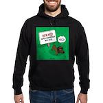 Dangerous Dachshund Hoodie (dark)