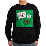 Dangerous Dachshund Sweatshirt (dark)