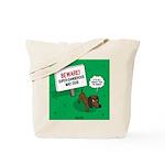 Dangerous Dachshund Tote Bag