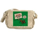 Dangerous Dachshund Messenger Bag