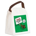 Dangerous Dachshund Canvas Lunch Bag