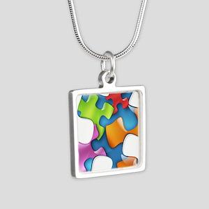puzzle-v2-5colors Necklaces