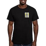 Salmon Men's Fitted T-Shirt (dark)