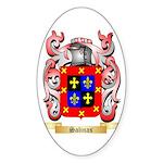 Salinas Sticker (Oval 50 pk)