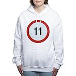 11 Women's Hooded Sweatshirt