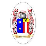 Saldivar Sticker (Oval 50 pk)