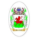 Salathiel Sticker (Oval 50 pk)