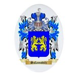 Salamovitz Oval Ornament