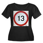 13 Plus Size T-Shirt