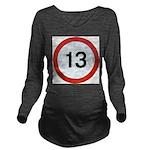 13 Long Sleeve Maternity T-Shirt