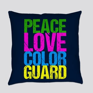 Color Guard Cute Everyday Pillow