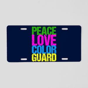 Color Guard Cute Aluminum License Plate