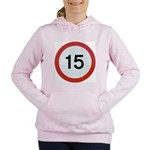 15 Women's Hooded Sweatshirt