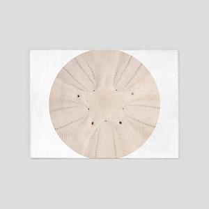 Sand Dollar Pattern 5'x7'Area Rug