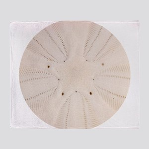 Sand Dollar Pattern Throw Blanket
