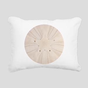 Sand Dollar Pattern Rectangular Canvas Pillow