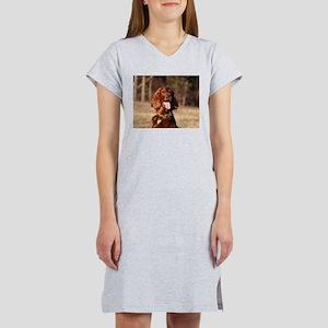 irish setter Women's Nightshirt