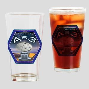 AS3 Logo Drinking Glass