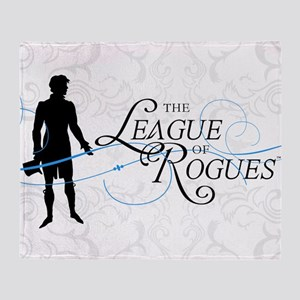 League of Rogues (Rogue) Throw Blanket