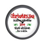 Christmas makes... Wall Clock