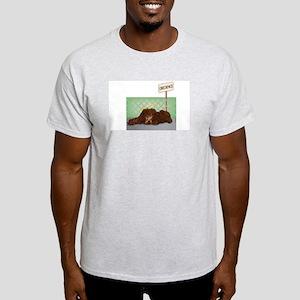 Irish Water Spaniel Obedience T-Shirt