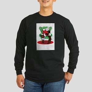 3-SANTAANDIWS Long Sleeve T-Shirt