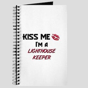 Kiss Me I'm a LIGHTHOUSE KEEPER Journal
