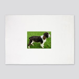 english springer spaniel liver full 5'x7'Area Rug