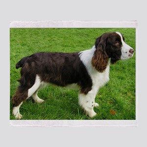 english springer spaniel liver full Throw Blanket