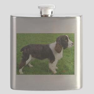 english springer spaniel liver full Flask