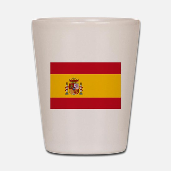 Spanish Flag Shot Glass