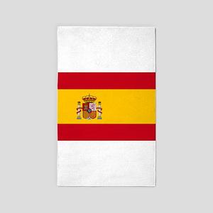 Spanish Flag Area Rug