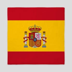 Spanish Flag Queen Duvet