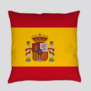 Spanish Flag Everyday Pillow