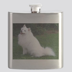 american eskimo full Flask