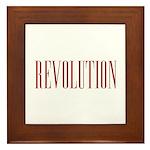 Revolution Framed Tile
