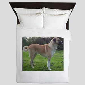 Anatolian Shepherd Dog full Queen Duvet