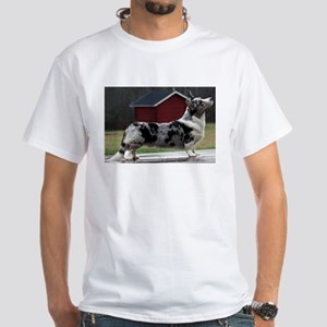 cardigan welsh corgi blue merle full T-Shirt