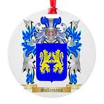 Salamans Round Ornament